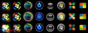 кнопка Пуск в Windows 7