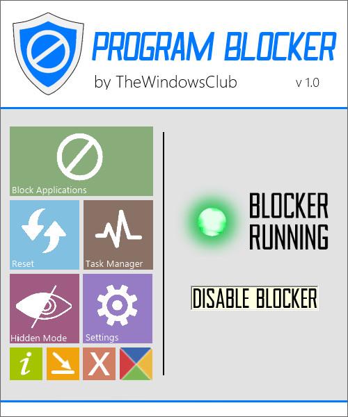 Program Blocker