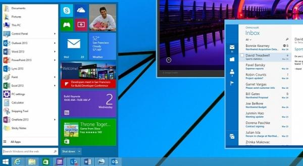 меню пуск виндоус windows 9