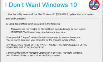 как убрать уведомление получить windows 10