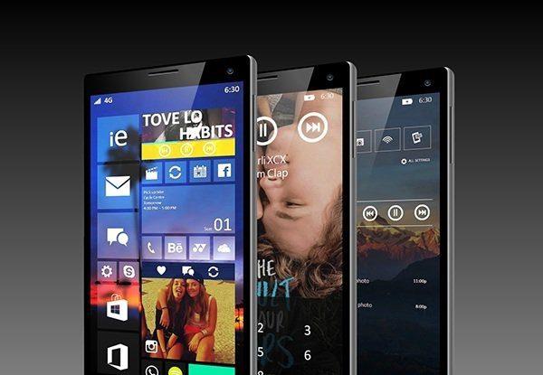 Смартфоны с windows 10