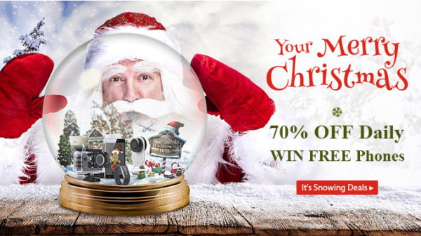 Новый Год и Рождество в магазине gearbest.com