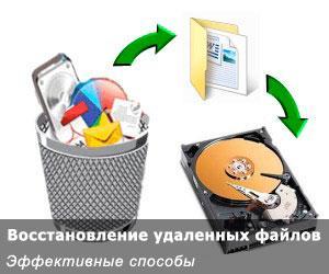 восстановление утраченных файлов