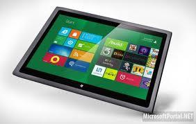 Планшет с Windows 8 на архитектуре ARM