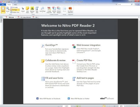 nitro reader