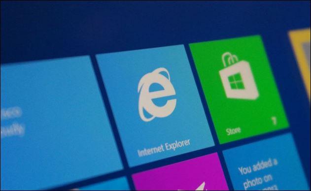 internet explorer 12 - windows 9
