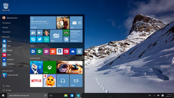Откровенные недостатки Windows 10