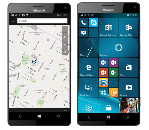 HERE apps on Windows Phone