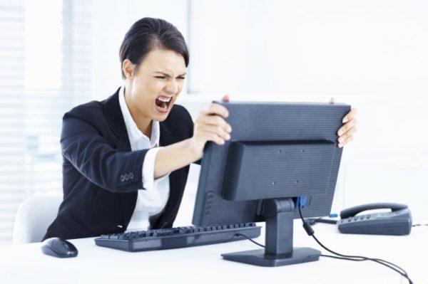 Поломки компьютеров