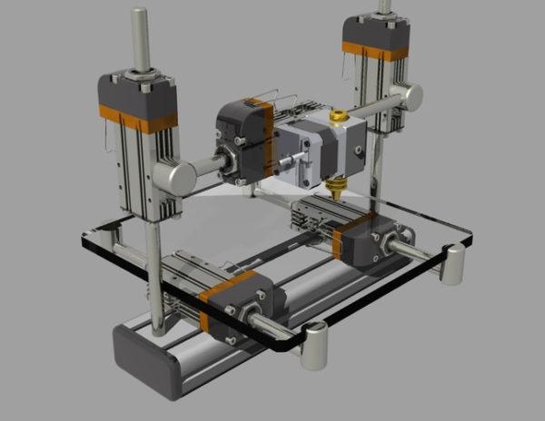 модели 3D-принтера