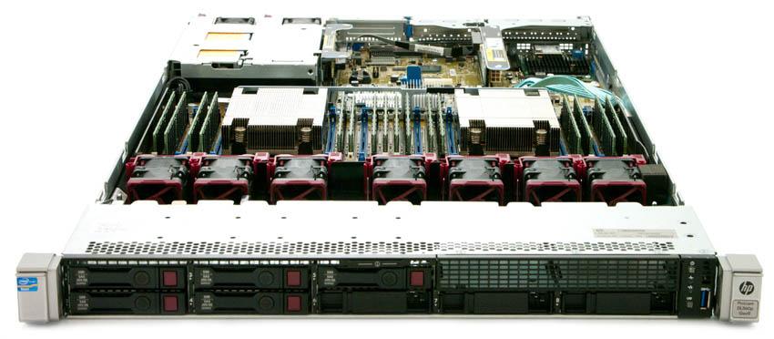 Особенности серверов DL360 Gen9