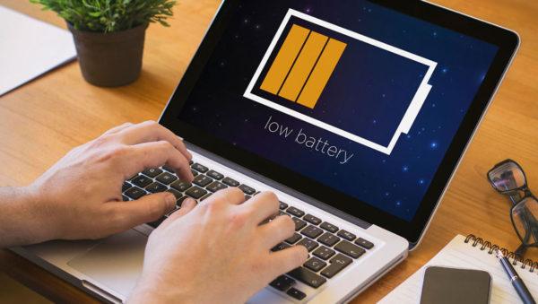 Обеспечение автономности и своевременного заряда аккумулятора ноутбука